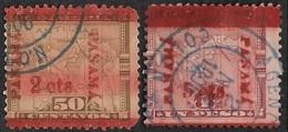 PANAMA   1906 -  YT 84 Et 85 -  Surchargés - Panama
