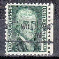 USA Precancel Vorausentwertung Preo, Locals Tennessee, Williston 841 - Vorausentwertungen