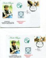 Belgie Andre Buzin Birds 3011 Herdenkingbrief Expo Buzin 2002 3011+ Signature Andre Buzin  RR! - 1985-.. Oiseaux (Buzin)