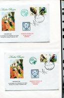 Belgie Andre Buzin Birds 2901 2804 Herdenkingbrief Expo Buzin 2002 + Signature Andre Buzin  RR! - 1985-.. Oiseaux (Buzin)