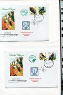 Belgie Andre Buzin Birds 2901 2804 Herdenkingbrief Expo Buzin 2002 + Signature Andre Buzin  RR! - 1985-.. Pájaros (Buzin)
