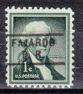 USA Precancel Vorausentwertung Preo, Locals Territories, PR Fajardo 729 - Vereinigte Staaten