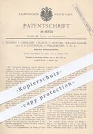 Original Patent - Florenz L. Veerkamp , Ch. F. Leopold , W. Darker , C. S. Patterson , Philadelphia , Schnurenmaschine - Documenti Storici
