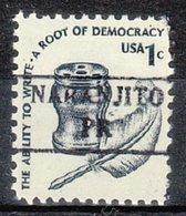 USA Precancel Vorausentwertung Preo, Locals Territories, PR Naranjito 882 - Vorausentwertungen