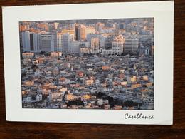 L6/13 Maroc. Casablanca . Ancienne Et Nouvelle Médina - Casablanca