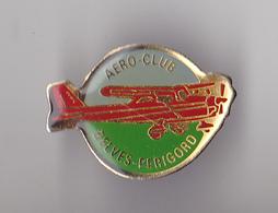 PIN'S THEME AVION  AERO CLUB DE BELVES  EN DORDOGNE  RARE - Airplanes