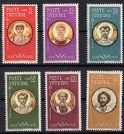 VATICAN  N* 274 A 279 TB Charnieres - Vatican