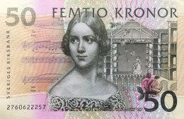 Sweden 50 Kronor, P-62a (1996) VF++ - Sweden