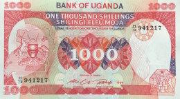 Uganda 1.000 Shillings, P-26 (1986) UNC - Uganda