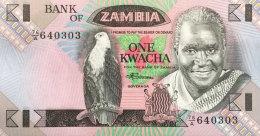 Zambia 1 Kwacha, P-23b (1980) UNC - Zambie