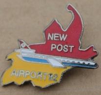 POLICE AEROPORT INTERNATIONAL COINTRIN GENEVE - NEW POST AIRPORT 92 GENEVA - AVION - EX SWISSAIR -  SUISSE-        (20) - Police