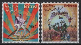 Eritrea (2016) - Set -  /  25 Aniv. Of Liberation - Eritrea