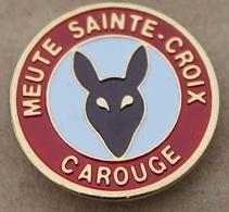 SCOUTS - MEUTE SAINTE-CROIX - CAROUGE - GENEVE - SUISSE - RENARD   -        (20) - Associations