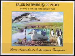 TAAF - FSAT - 2006 -Faune - Le Grand Albatros  - Bloc 15  - Neuf ** - MNH - Blocs-feuillets