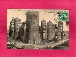76 Seine Maritime, Rouen, Tour Ou Jeanne D'Arc Fut Enfermé En 1431, Animée, Gravure, 1911, (C. V.) - Rouen