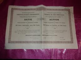 Compagnie D'exploitation Des CHEMINS DE FER ORIENTAUX (1906) - Actions & Titres