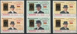 1935 - Olympiade München 1972 - Geschnittenes Paar - Reiter Und Reiterin - Hippisme