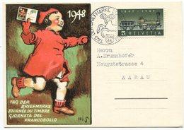 1936 - 1948 Tag Der Briefmarke Sonderkarte - Briefe U. Dokumente