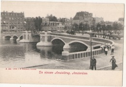 ***  AMSTERDAM  ***  De Nieuwe Amstelbrug - Unused TTB - Amsterdam