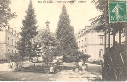 (58) Nièvre - CPA - En Morvan - Château Chinon - L'Hôpital - France