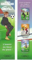 """Marque-pages Antoine Griezmann - """"Goal !"""" - Bookmarks"""