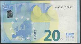 "EURO 20  ITALIA SE S018  ""35""  DRAGHI  UNC - EURO"