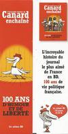 Marque-pages Le Canard Enchaîné En BD - Bookmarks