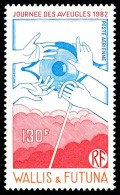 WALLIS ET FUTUNA 1982 - Yv. PA 120 ** TB  Faciale= 1,09 EUR - Journée Des Aveugles  ..Réf.W&F22099 - Airmail