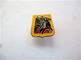 PINS CAVALIER CHEVAL  Base Dorée / 33NAT - Badges