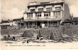 COUTAINVILLE - LES PAILLOTES ET LE CASINO - Andere Gemeenten