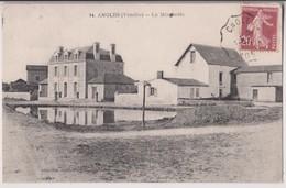 ANGLES - CANTON DE MAREUIL SUR LAY (85) : LA MINOTERIE - JEHLY-POUPIN MORTAGNE - CARTE RARE ? - ECRITE 1928 - 2 SCANS - - France