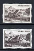 1949  LE GERBIER DE JONC  N° 843 & 843a  NEUFS   COTE > 32 € - France