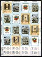 Hungary 1997. Nyíregyháza Commemorative Sheet (Special Cat. Number: 1997/8.) - Feuillets Souvenir