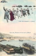 Surréalisme - Une Excursion à Liège - Quai Des Pêcheurs Et Vue Sur La Meuse - Liege