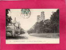 76 Seine Maritime, Environs De Rouen, Les Ruines De L'Abbaye De Jumièges, 1904, (L. L.) - Rouen
