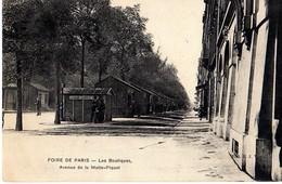 PARIS - FOIRE DE PARIS - LES BOUTIQUES - AVENUE DE LA MOTTE PIQUET - Arrondissement: 15