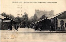 PARIS - FOIRE DE PARIS - ESPLANADE DES INVALIDES - LE GROUPE DES PRODUITS CHIMIQUES - Arrondissement: 07