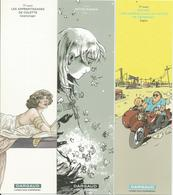 Lot De 7 Marque-pages Différents La Littérature Graphique Dargaud - Bookmarks