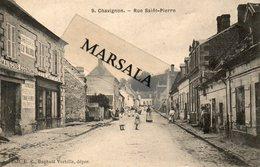 CPA Chavignon  Rue Saint Pierre - Andere Gemeenten