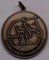 3210 Vz Landelijke Rijverenigingen (LRV) - Kz Gewestelijk Ponytornooi Moerzeke 15 Augustus 1993 - Tokens Of Communes