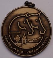 3212 Vz Landelijke Rijverenigingen (LRV) - Kz Gewestelijk Ponytornooi Lo Reninge 25 Juli 1993 - Tokens Of Communes