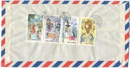 1942 - CHINA - Luftpost Beleg Nach Schweden Seltener Bedarfsbeleg - Lettres & Documents