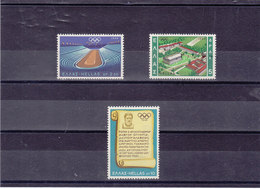GRECE 1968  JEUX OLYMPIQUES DE MEXICO Yvert 967-969 NEUF** MNH - Grèce