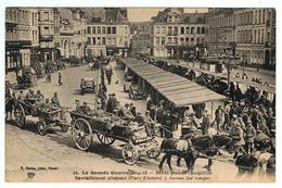 Douai  / Place D'Armes / Ravitaillement Allemand / Ed. Baron - Douai