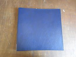 CLASSEUR ALBUM POUR CARTES POSTALES (V1801) Inclus 40 Pochettes De 2 X 6 CP  Contenance : 480 Cp Couverture Bleue - Matériel