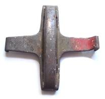 Croix Laiton Protection Culot Douille Obus Anglais 18PR  1914  1918 Ww1 GB (3) - 1914-18