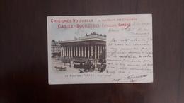 Chicorée Nouvelle CASIEZ-BOURGEOIS  CAMBRAI -  La Bourse (PARIS) 1898 - Cambrai