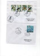 """Mayotte 1997-2011 > Lot De 3 Lettres 1er Jour-  - """" OISEAUX """"  & """"PAPILLON""""N°134/7-193-154/7 - Mayotte (1892-2011)"""