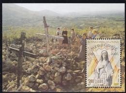 2001, Bosnien-Herzegowina (Mostar), 76 Block 1, Marienerscheinungen In Medjugorje. MNH ** - Bosnien-Herzegowina