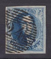 N° 7 Bien  Margé RETOUCHE FEUILLAGE 24 Bruxelles - 1851-1857 Médaillons (6/8)